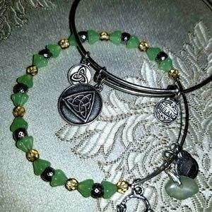Ireland and beaded Alex and ani